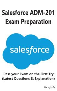 Salesforce ADM-201 Exam Preparation Book Cover