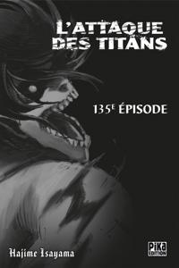 L'Attaque des Titans Chapitre 135 Couverture de livre