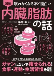 眠れなくなるほど面白い 図解 内臓脂肪の話 Book Cover