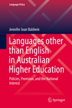 Languages other than English in Australian Higher Education