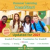 Lumos Summer Learning HeadStart, Grade 8 To 9: EReader Edition - Math, Reading, And Language Practice Plus Fun Activities, Bridge To Success With Standards Aligned Practice