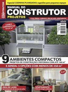 Manual do Construtor Projetos Ed. 14 - 9 Projetos Com Até 160 m² Book Cover