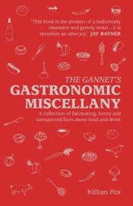 The Gannet's Gastronomic Miscellany Copertina del libro