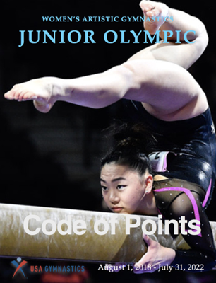 Code of Points - USA Gymnastics Women's Junior Olympic Technical Commitee book