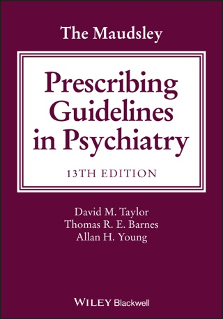 The Maudsley Prescribing Guidelines In Psychiatry On border=