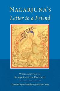 Nagarjuna's Letter to a Friend Book Cover