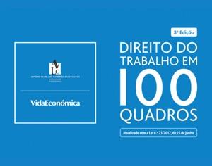 Direito do Trabalho em 100 Quadros Book Cover