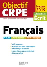 Objectif CRPE Français 2019