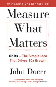 Measure What Matters Copertina del libro