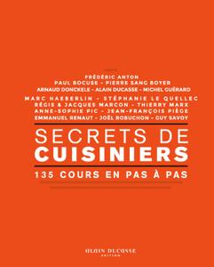 Secrets de cuisiniers - 135 cours en pas à pas La couverture du livre martien