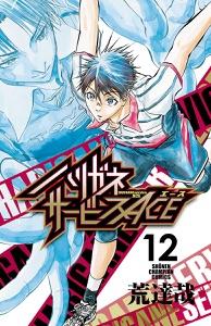 ハリガネサービスACE 12 Book Cover