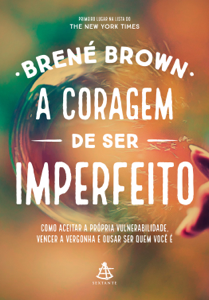 A coragem de ser imperfeito Book Cover