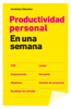 Productividad personal en una semana - Jerónimo Sánchez