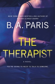 The Therapist - B A Paris by  B A Paris PDF Download