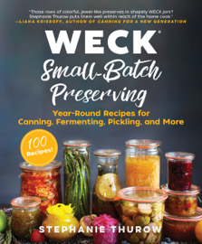 WECK Small-Batch Preserving book
