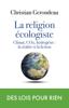 Christian Gerondeau - la religion écologiste illustration