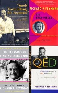 Richard Feynman Collection 4 Books: