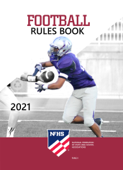 2021 NFHS Football Rules Book Book Cover