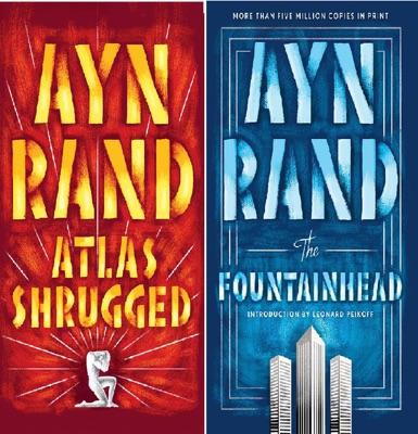 Ayn Rand Novel Collection 2 Box Set: Atlas Shrugged, The Fountainhead