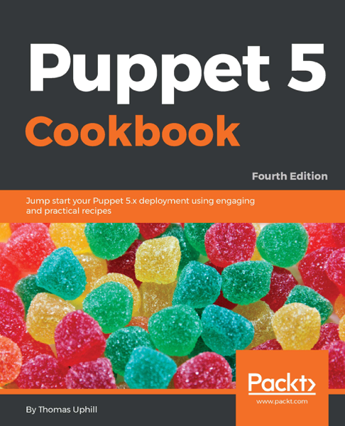 Puppet 5 Cookbook