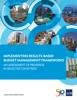 Implementing Results-Based Budget Management Frameworks
