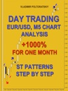 Day Trading EURUSD M5 Chart Analysis 1000 For One Month ST Patterns Step By Step