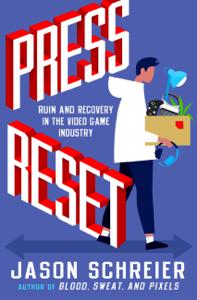 Press Reset Boekomslag