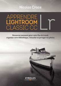 Apprendre Lightroom Classic CC La couverture du livre martien