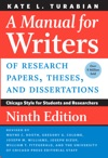 A Manual For Writers Of Research Papers Theses And Dissertations Ninth Edition