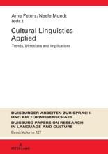 Cultural Linguistics Applied