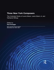 Download and Read Online Three New York Composers