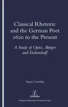 Classical Rhetoric And The German Poet