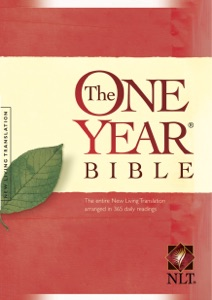The One Year Bible NLT Book Cover