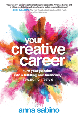Your Creative Career - Anna Sabino book