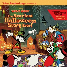 Disney Mickey Mouse Halloween Read-Along Storybook - Disney Book Group