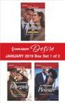 Harlequin Desire January 2019 - Box Set 1 Of 2