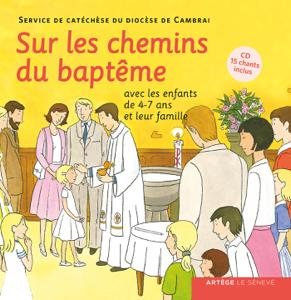 Sur les chemins du baptême - enfant 4-7 ans La couverture du livre martien