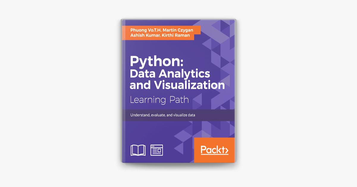 Python: Data Analytics and Visualization on Apple Books