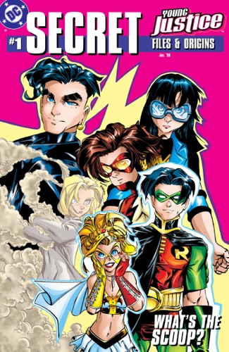 D.C. Johnson, Peter David, Joe Illidge, Matt Brady, Alé Garza, Todd Nauck, Craig Rousseau, Darryl Banks, Tom Grummett, Michael McKone, Humberto Ramos, Dwayne Turner & Ethan Van Sciver - Young Justice Secret Files (1998-) #1