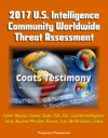 2017 US Intelligence Community Worldwide Threat Assessment Coats Testimony Cyber Attacks Islamic State ISIS ISIL Counterintelligence Syria Nuclear Missiles Russia Iran North Korea China