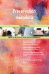 Preservation Metadata Third Edition