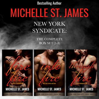 New York Syndicate: The Complete Series Box Set (1-3) - Michelle St. James