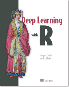 Deep Learning with R La couverture du livre martien