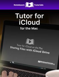 Tutor for iCloud for the Mac