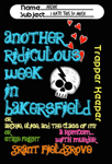 Another Ridiculous Week in Bakersfield