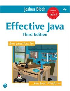 Effective Java, 3/e Book Cover
