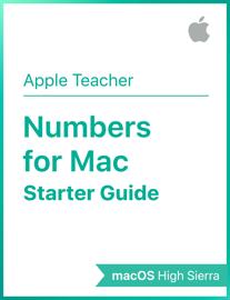 Numbers for Mac Starter Guide macOS High Sierra book