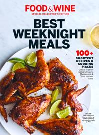 FOOD & WINE Best Weeknight Meals book