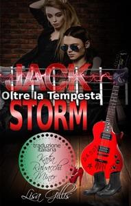 Jack Storm Oltre la Tempesta di Lisa Gillis Copertina del libro