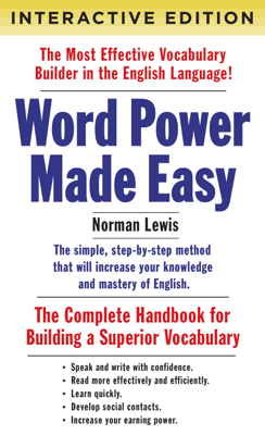 Word Power Made Easy (Interactive Edition) - Norman Lewis book